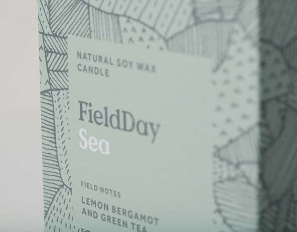 Field Day Sea Large Candle
